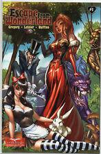 Grmm Fairy Tales ESCAPE FROM WONDERLAND 1 J Scott Campbell VARIANT 2009