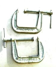 """C Clamps various sizes from 1/"""" to 4 Inches including Jorgensen /& MIT"""