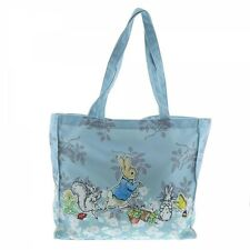 Beatrix Potter A27752 Peter Rabbit Blue Tote Bag