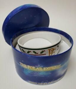 Polar Express~2 Piece Hot Chocolate Mug and Saucer Set Hallmark NEW