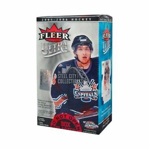 2005-06 Fleer Ultra Hockey 8ct Blaster Box