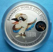 1oz Shanghai World Expo 2010 Australian Pavilion Maskottchen 31,1g 999 ag Silber