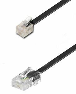 21.st - CAVO TELEFONO ADSL RJ11 RJ45 6P2C x FRITZ BOX FRITZBOX LUNGHEZZA CM 80
