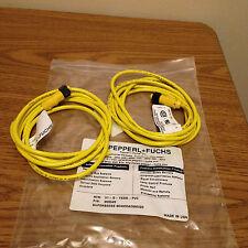 PEPPERL+ FUCHS V1-G-YE2M-PVC / 903349 PROXIMITY SWITCH WIRE (2 PCS)  NEW