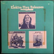 Judy Collins, Sailcat, Audience - Elektra May Releases - EX Vinyl LP