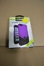 iFrogz - Luxe Original Hard Case for Apple iPhone 5 / 5S and iPhone SE Purple