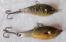 Deux cuillers très anciennes / Leurres / Pêche