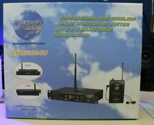 Audio 2000'S Awm6304U Professional Uhf Wireless In Ear Monitoring System