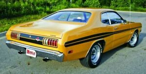 Tail Panel Stripes for 1971 1972 Dodge Demon