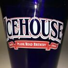 Icehouse Plank Road Brewery Since 1855 14 Oz Blue Glass