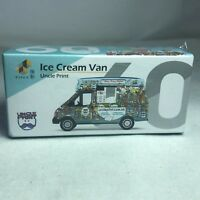 1/64 TINY Hong Kong CAR 60 - ICE CREAM VAN Uncle Print Hong Kong ATC64439