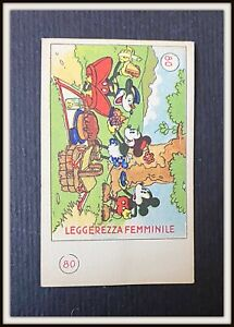 ⭐ Figurina PREMIO TOPOLINO # 80 - Elah Disney 1936 - DISNEYANA.IT ⭐
