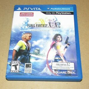 Final Fantasy X/X-2 HD Remaster (Case Only) Playstation Vita Authentic