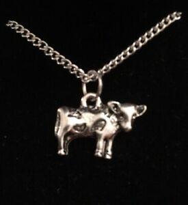 Cow Pendant Necklace