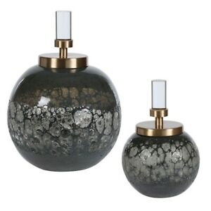 Uttermost Cessair Art Glass Bottles, Set of 2 - 17729