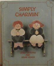 Simply Charmin Tole Painting Patterns By Emily Dinsdale & Susan Roach - 1988