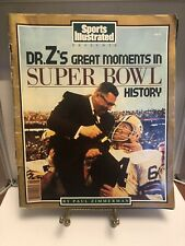 Dr Z's Greatest Moments In Super Bowl Magazine Sports Illustrated Magazine