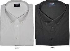 Camisas de vestir de hombre en color principal negro de poliéster