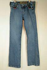 "NOTIFY Jeans "" Nymphea "" Italian Denim Straight Leg Jeans Flap Pocket / 29 X 34"
