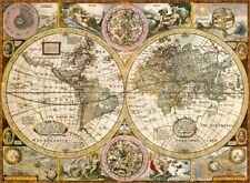 Map 3000 Piece Clementoni Old Map Cartography Jigsaw Puzzle Made in Italy