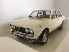 """TRUESCALE 1/18 Alfa Romeo Alfetta 1800 """"1972"""" White Art. TSM141832R L.E. 180 Pcs"""
