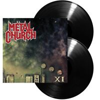 METAL CHURCH - XI 2 VINYL LP NEW+