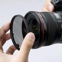 37-82MM UV Hood Lens Filter Kit For Canon Nikon Tamron Sigma