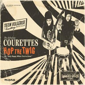 "The Courettes - Hop The Twig 7"" single ORANGE VINYL *Garage Rock*"