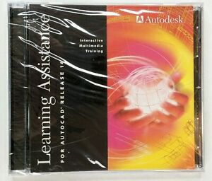 Autodesk Autocad Learning Assistance Release 14 DVD - Sealed w/ key