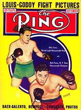 THE RING - BOXING MAGAZINE_RARE - SEPTEMBER 1940