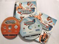 2 x SONY PLAYSTATION 3 PS3 GAMES VIRTUA TENNIS 3 COMPLETE + VT 2009 DISC PAL
