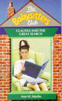 Claudia and the Great Search (Babysitters Club), Martin, Ann M., Very Good Book