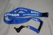 Simson Schlüsselband mit Kindersicherung Zündschlüssel Karabinerhaken