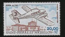 Piper Aztec Flugzeug Airplane Französisch St. Pierre & Miquelon UngebrauchtMarke
