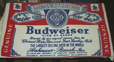 "Vintage : Budweiser ""Bottle Label"" Beach Towel @ Anheuser Busch Beer"