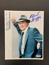 Robert Loggia Signed Photo PSA/DNA 8x10 Autograph Sopranos Scarface FBI Suit