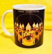 THE STRAWBS BURNING FOR YOU 1977- ALBUM COVER ON A MUG.