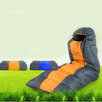Outdoor Camping Envelope Sleeping Bag Waterproof Hiking Warm Travel Backpacking