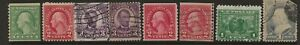 EARLY US STAMPS--MIXED CONDITION-#2---68