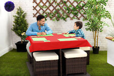Solid Pattern Square Tablecloths