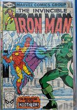 Iron Man #136 Endotherm! Marvel Comics July 1980