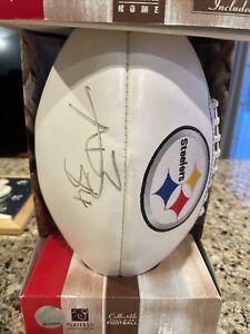 Antonio Brown Autographed Football Steelers Buccaneers Superbowl Read!