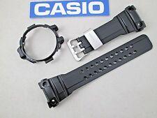 Casio G-Shock Gulfmaster GWN-1000B watch band & bezel set black resin rubber