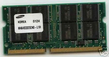 Notebook 256mb MEMORIA RAM SDRAM SO-DIMM 16 Chip 100mhz 144pin Memory