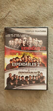 The Expendables 1 2 3 Trilogy: Sylvester Stallone Jason Statham (DVD) BRAND NEW!