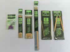 5 packages of Clover Takumi Knitting Needles & 1 package of Point Protectors