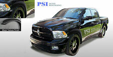 BLACK TEXTURED Extension Fender Flares 2009 - 2016 Dodge RAM 1500 FULL SET