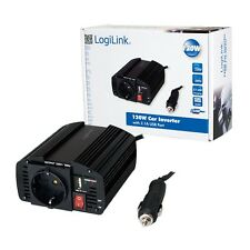 LOGILINK 120W AUTO KFZ SPANNUNGSWANDLER MIT USB-PORT AUTO INVERTER 12V -  230V