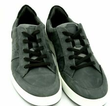 ECCO Jack lace Mens Sneakers size US 8-8.5 (EUR 42) Moonless Leather