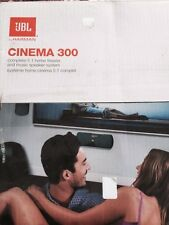 JBL Cinema 300 Complete 5.1 home Theater and Music Speaker